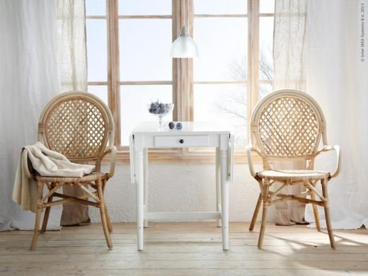 1000 images about wicker rattan bamboo on pinterest furniture metal chairs and ikea chair - Rattan dining chairs ikea ...