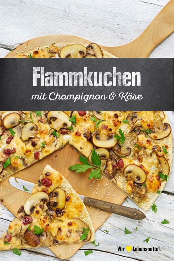 Pilz-Käse-Tarte   – Wir lieben Käse.