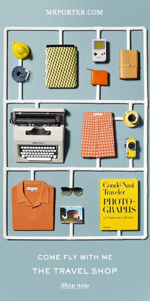 MR PORTER, come fly with me | #design