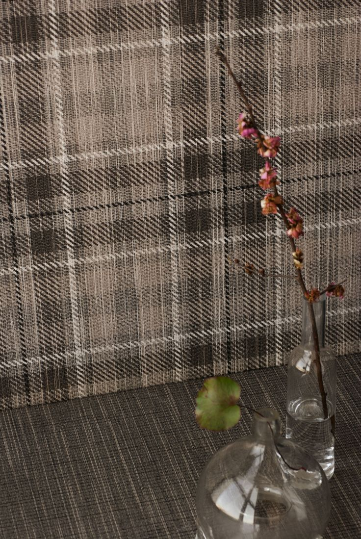 The ART of sewing the softness of #fabric on the strenght of #porcelain: #Tailorart collection. #fabric #tartan #CeramicaSantAgostino #designtiles #tiles #interiors