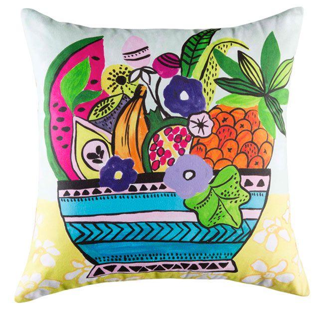 Kas Ulibo 50x50cm Filled Cushion Multi