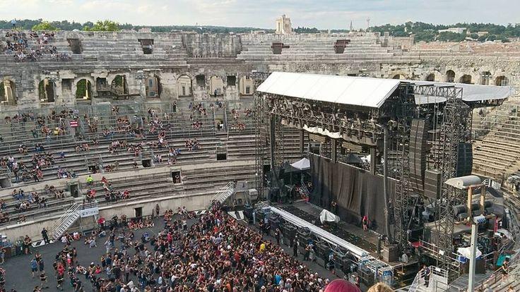 Epic Firetruck's Rammstein ~ Festival De Nimes, Nimes, France - Photo by Caroline Copin ~