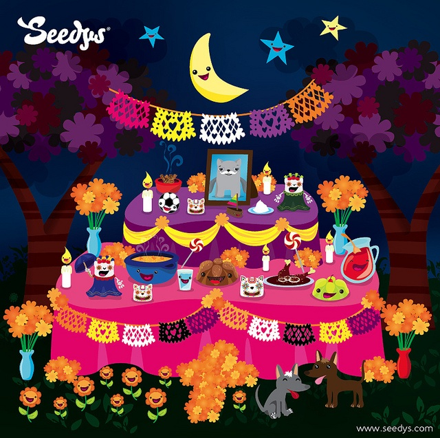 Feliz Dia de Muertos by Seedys, via Flickr