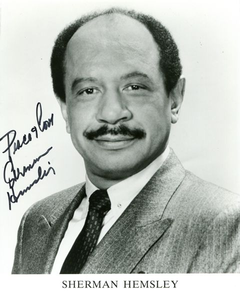 """Sherman Hemsley, who played the wisecracking George Jefferson on """"All in the Family"""" and """"The Jeffersons,"""" died Tuesday at age 74"""