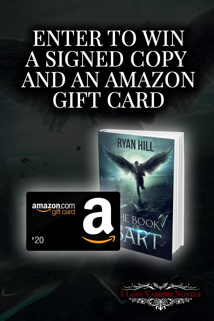 Win a $20 Amazon Gift Card, a Signed Paperback or eBooks from Bestselling Author Ryan Hill