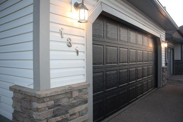 The 25+ best Painted garage doors ideas on Pinterest ... on Garage Door Color Ideas  id=11335