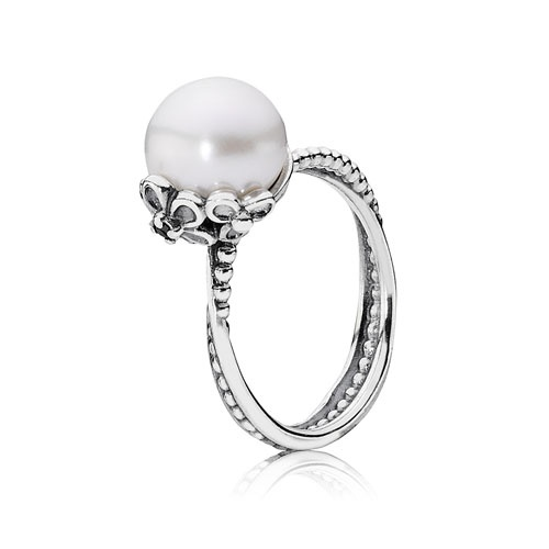 Pandora pearl ring & other pandora products available at Tany's Jewellery in northland mall of Calgary yyc http://www.tanysjewellery.com/