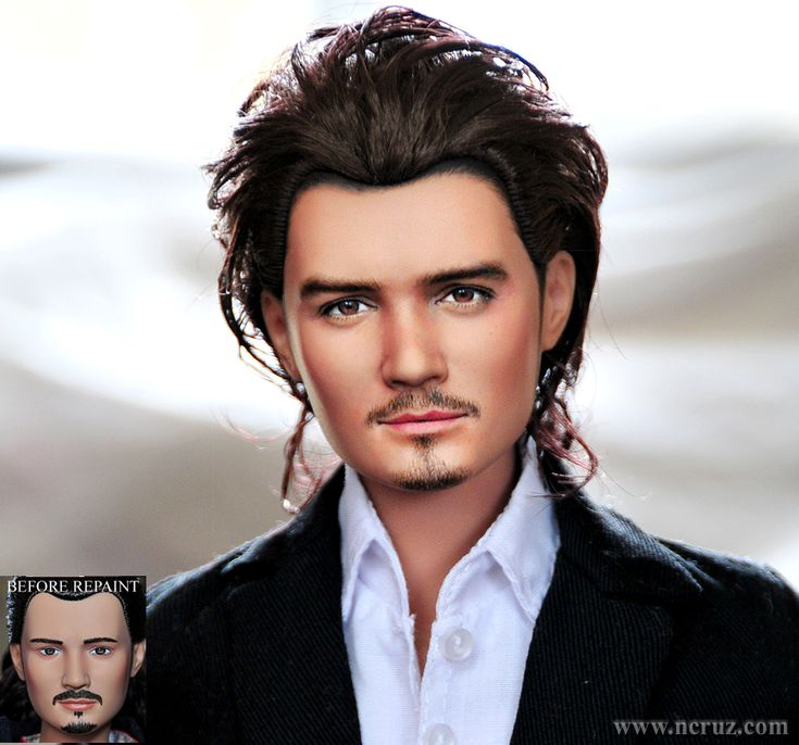 17-inch Orlando Bloom custom doll repaint by noeling.deviantart.com on @deviantART
