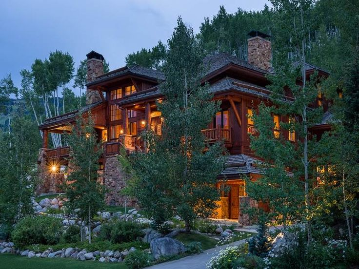 8 best rocky mountain luxury homes images on pinterest for Colorado mountain house