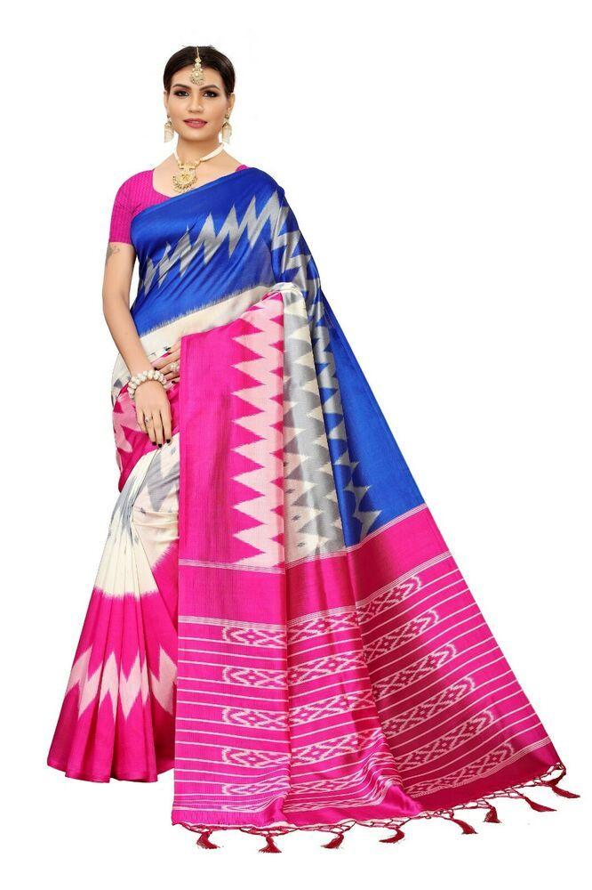 Indian Ethnic Designer Art Silk Party Wear Saree Wedding Wear Pakistani Sari SC