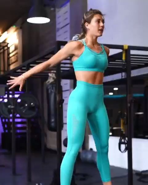 Gymshark Energy+ Seamless Leggings – Tropical Blue