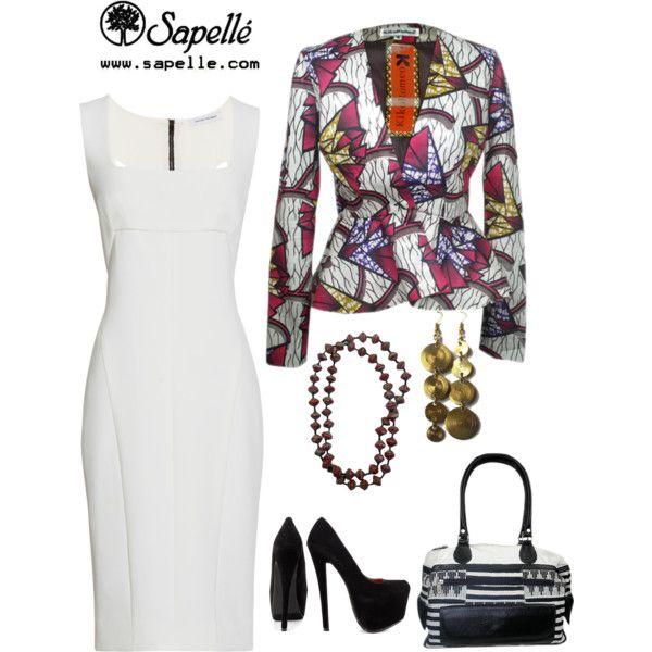 """""""Printastic! We're print-mad today. Could you tell?"""" by sapellestyle on Polyvore"""
