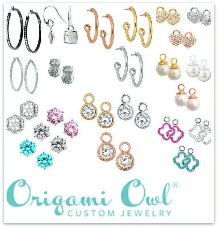 40 best origami owl earrings images on pinterest living