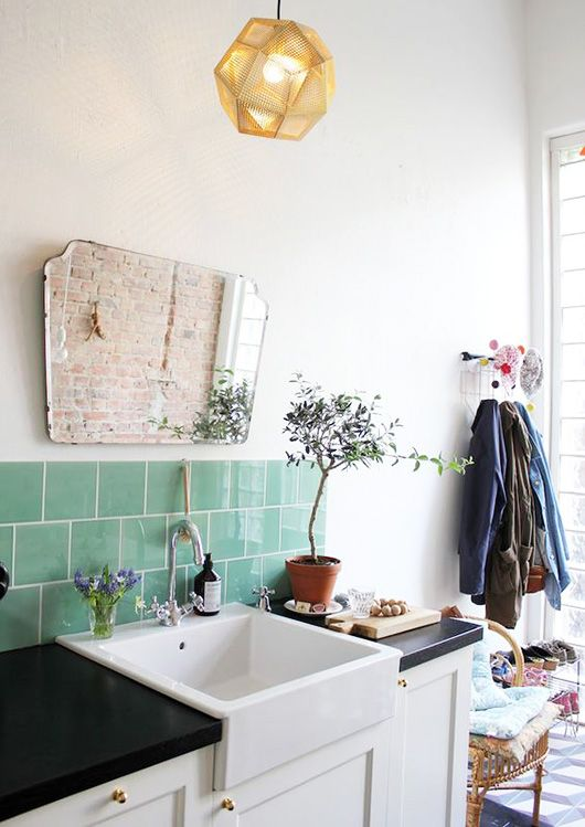 green with tile envy.