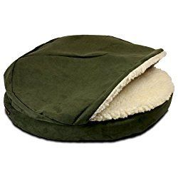 Snoozer Luxury Orthopedic Cozy Cave - Small/Saddle SN-87586 - durable and well loved by dogs of all sizes http://xacey.com/snoozer-cozy-cave-dog-beds/