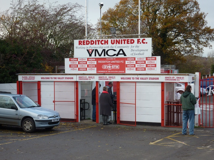 Redditch United 0 Arlesey Town 1. Evo-Stik League Southern Premier Division. 26th November 2011.