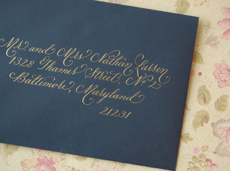 Lisa Ridgely Graphic Design Prints Artwork Pinterest Gold Calligraphy Invitation Envelopes And