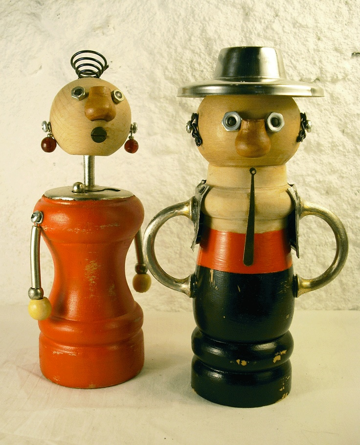 1000 images about pepper grinder on pinterest left Funky salt and pepper grinders