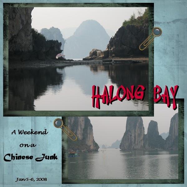 Halong Bay 2 - Scrapbook.com