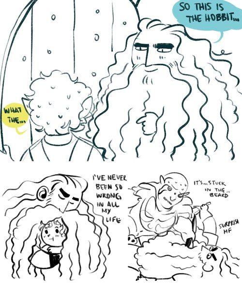 If Thorin had a huge beard