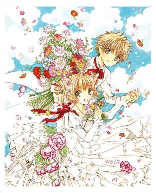 Sakura & Syaoran, Cardcaptor Sakura [CLAMP] -little sweet sacrifice