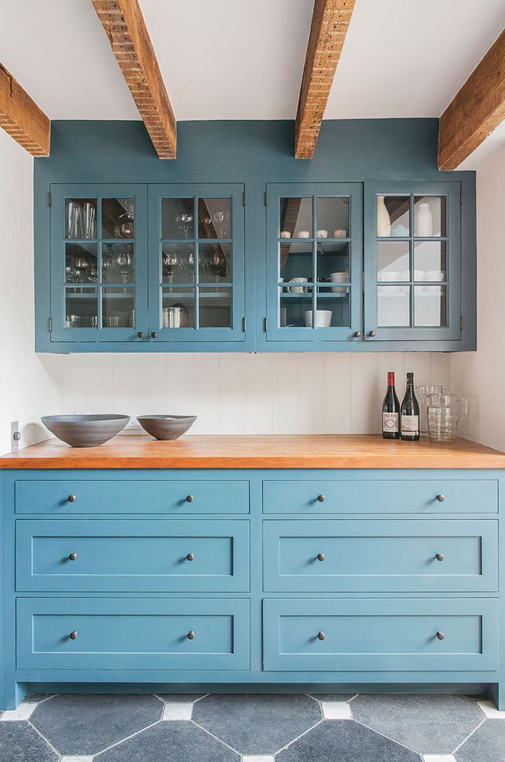 192 best Blue Cabinets images on Pinterest | Dream kitchens, Kitchen ...