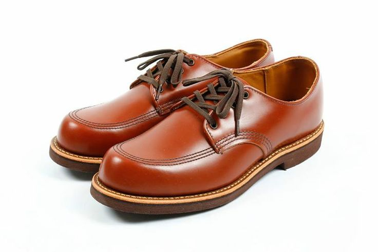 """RED WING Shoes Taiwan SS14 New Style Coming Soon!  上市日期:3月22日  Work Oxford - Garageman Style. 9203 Leather. Madeira """"Chapparal"""" Last. 23 Construction. Goodyear Welt Sole. Brown Neoprene Crepe Price. NT$9,700 ดูคำแปล"""