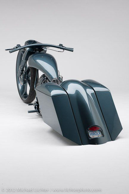 ROAD IRON-BAGGER OF THE YEAR rear