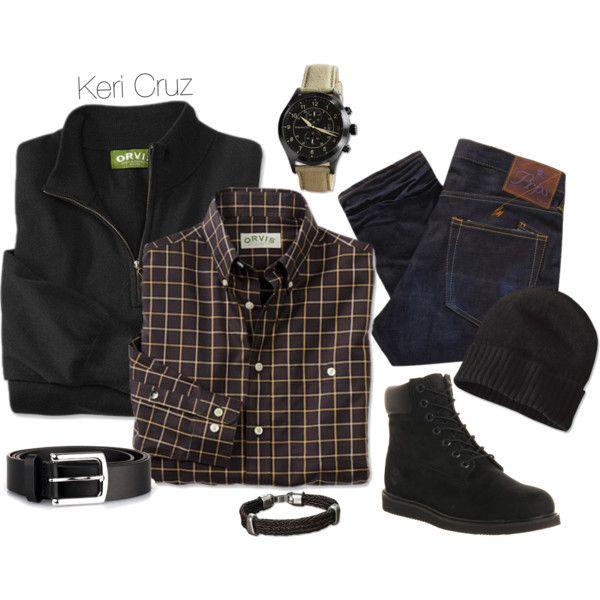 """Winter Fashion for Men"" by keri-cruz on Polyvore"