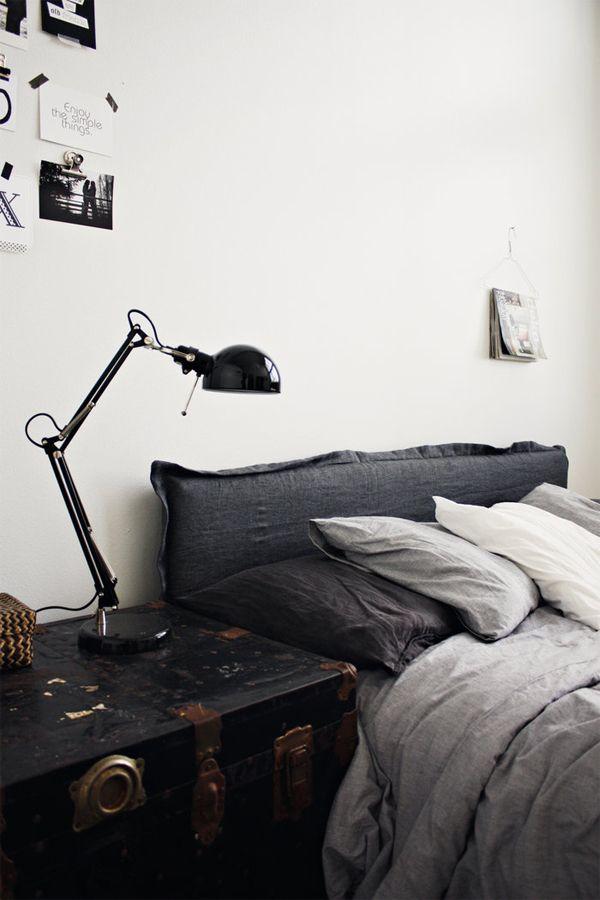 grey linen - grijs beddengoed