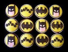 Resultado de imagen para cupcakes decorados de batman