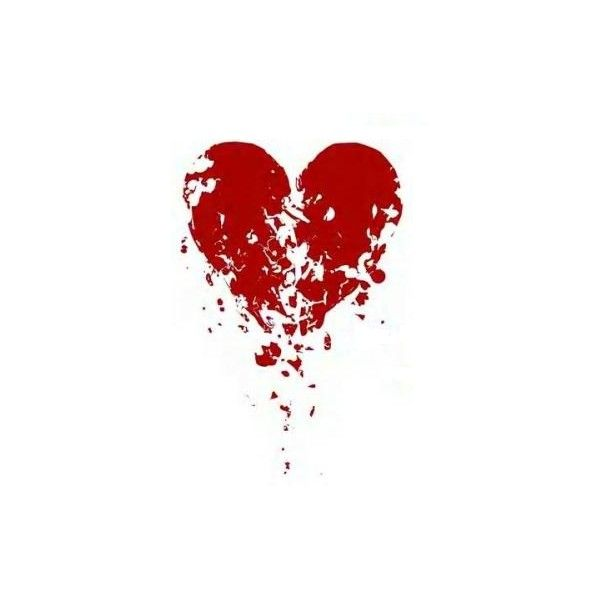 Broken heart image by BooMoore on Photobucket ❤ liked on Polyvore featuring hearts, backgrounds, love, red, fillers and effects