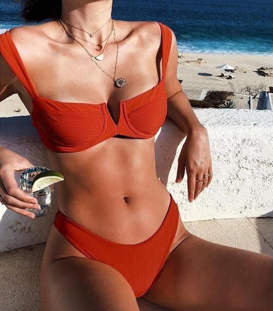 Bikini 2018 Bikinis Women Sexy Swimsuit Brazilian Bikini Set Biquini Sequins Shiny Bathing Suit Swimwear biquini Maillot De Bain – begi