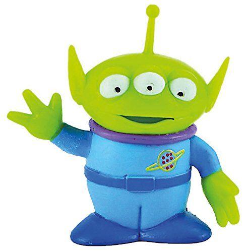 Pixar Disney Toy Story 3 Alien Extra-Terrestre figurine 7 cm: Replongez dans l'univers Toy Story avec cette figurine d'environ 6 cm de haut…