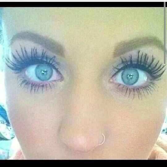 No glue or false lashes needed!!