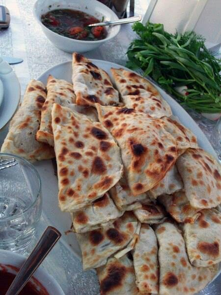 ... spicy meatballs with pomegranate sauce fesinjan kyufta