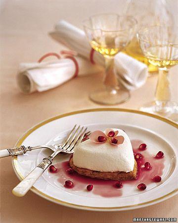 coeurs a la creme la creme valentine desserts valentines recipes ...