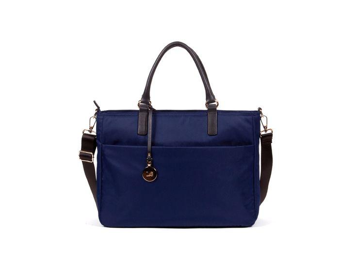 The Brookline - Nylon - Black / Gold / Lavender. Women's Laptop BagsLaptop  BackpackWork Tote ...