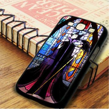 Walt Disney Maleficent And Diablo Stained Glass Samsung Galaxy S3 Case