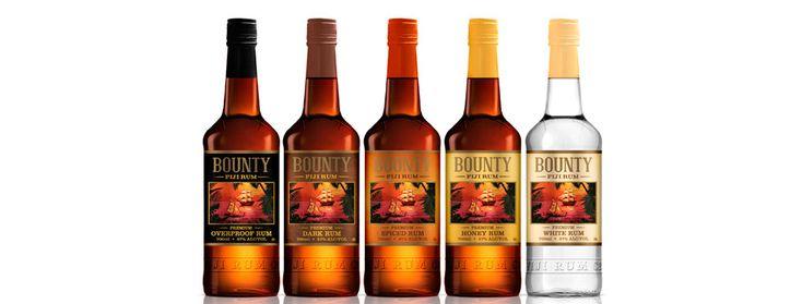 Le Bounty Rum est le rhum de Ste Lucie par excellence, souvenir à ramener absolument