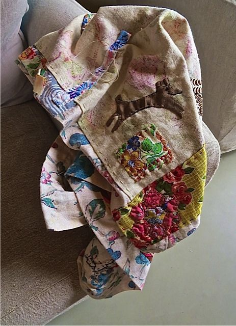 Beautiful piece by Bronwyn Hickey at Janet's workshop, Les Soeurs Anglaises, Jnune 2014