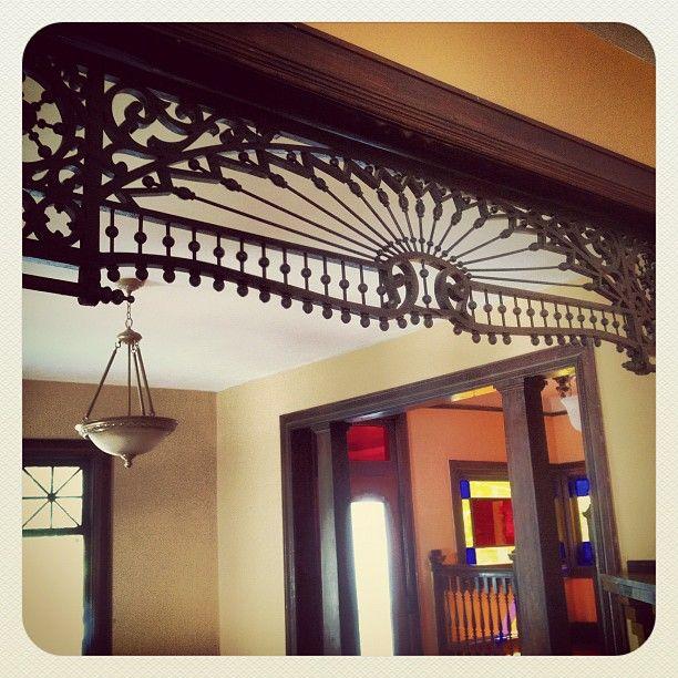 Original Woodwork in 1910 Victorian house in Parkridge, #Knoxville TN Photo by fostertheamericandream • Instagram