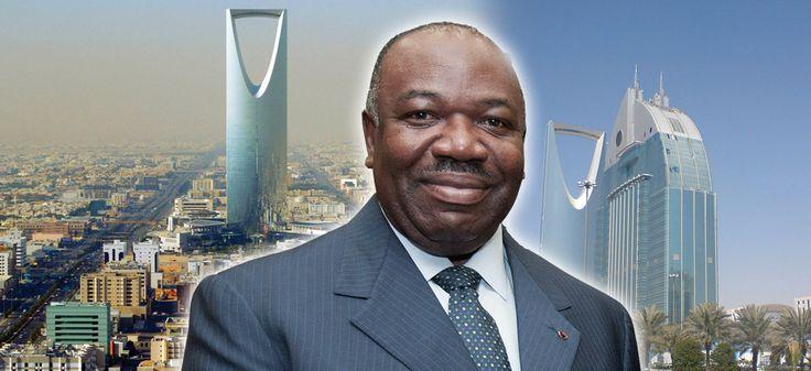 Ali Bongo Ondimba à la rencontre du roi Salman d'Arabie saoudite.