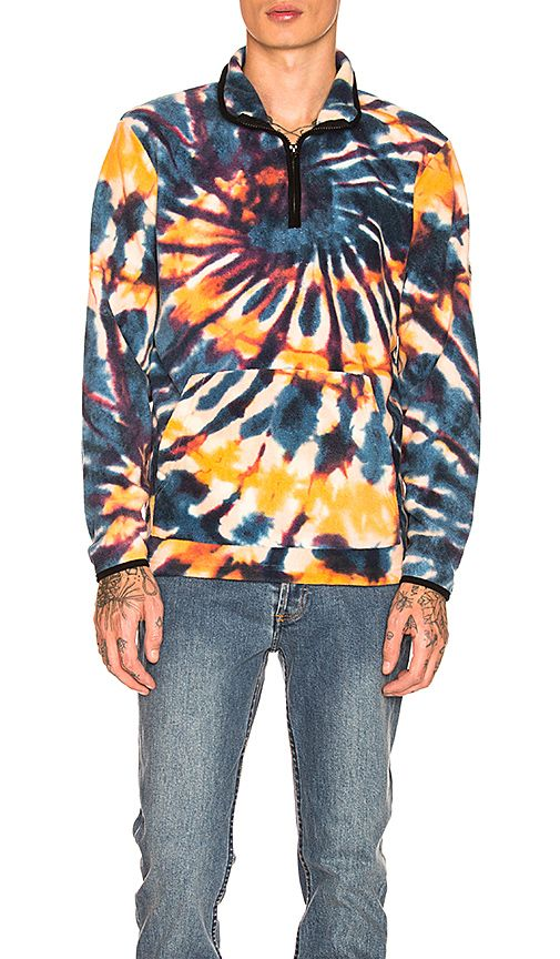 Shop for Stussy Tie Dye Polar Fleece Mock in Multi at REVOLVE. Free 2-3 day shipping and returns, 30 day price match guarantee.