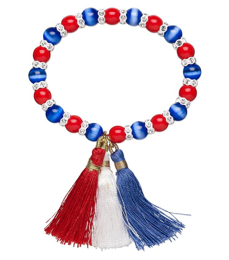 68 best 4th of July Jewelry Designs images on Pinterest | Bead ...