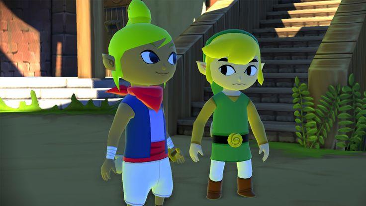 The Legend of Zelda: Wind Waker For Wii U. HD!