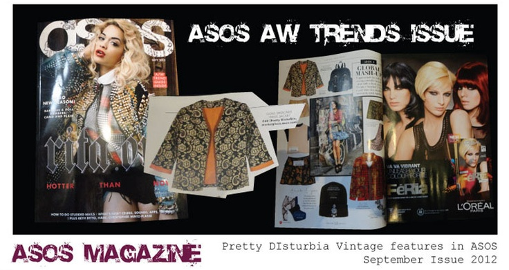 Pretty Disturbia | designer clothing for women | press and gallery  ASOS MAGAZINE FASHION TRENDS ISSUE