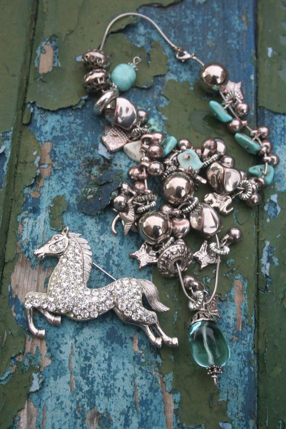 Horse jewellery Horse jewelry Horse brooch Horse pin