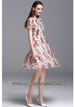 Elegantes Stick Kleid Abendkleid Umeko