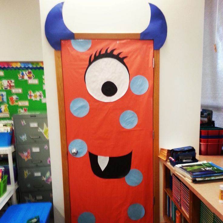 Monster Door ...Put a smile on their faces!